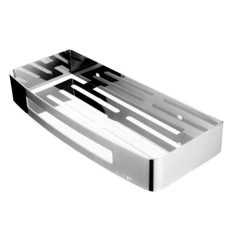 水鹿优选精致置物架(长方形)304不锈钢