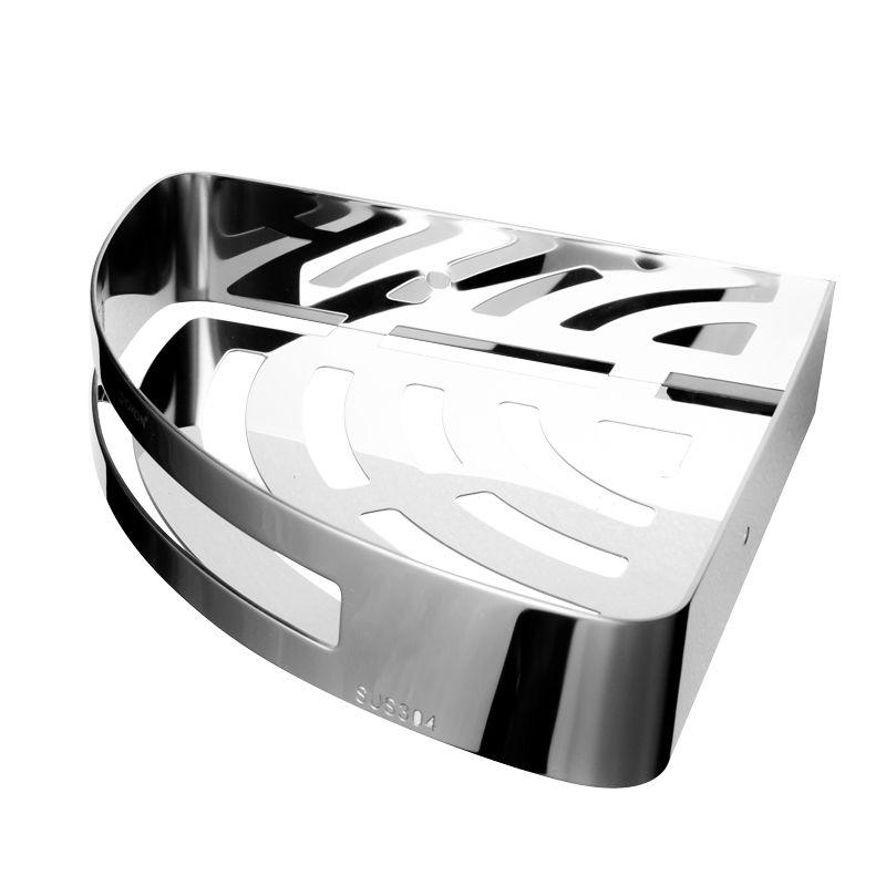 水鹿优选三角置物篮(三角形)304不锈钢