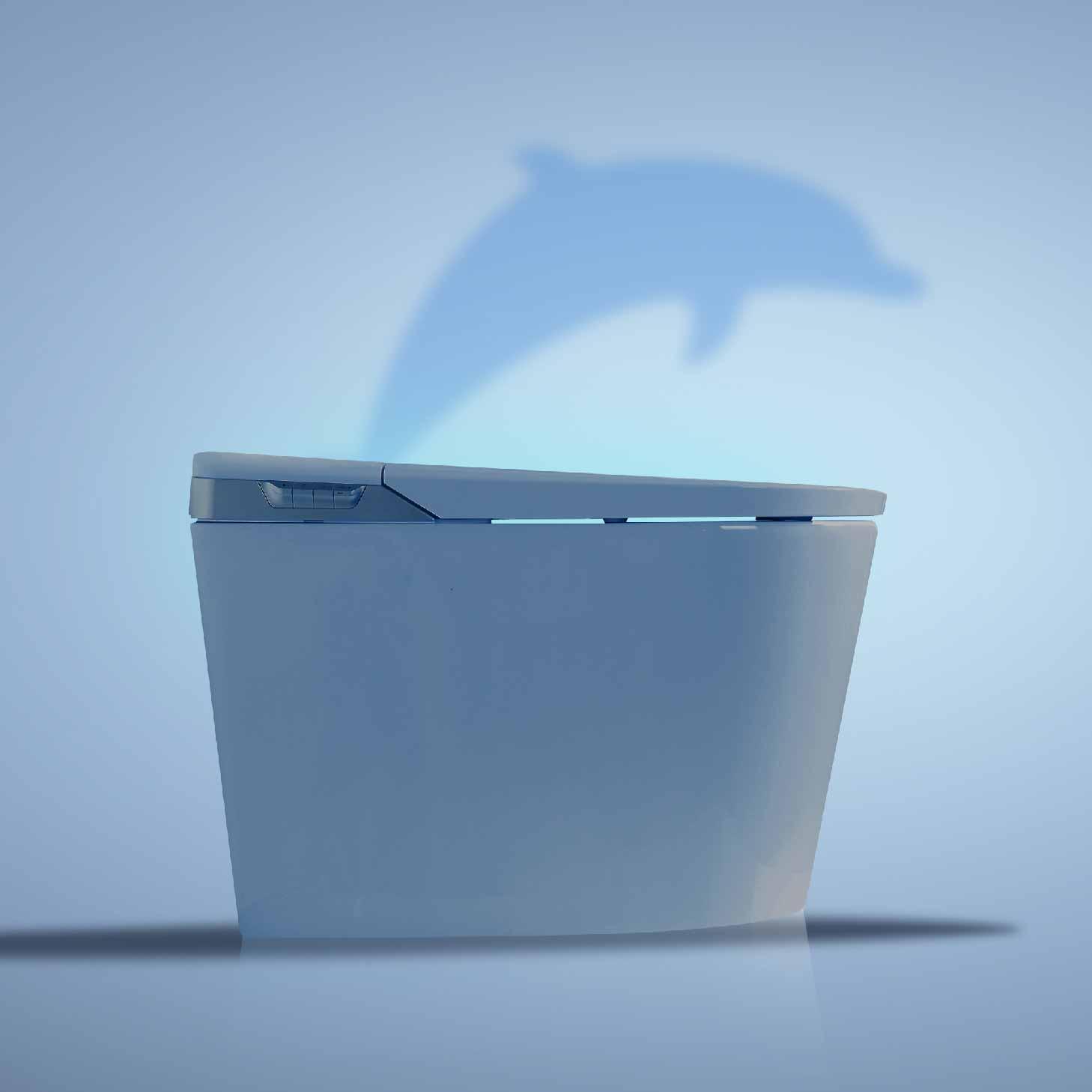 水鹿智能马桶-海豚