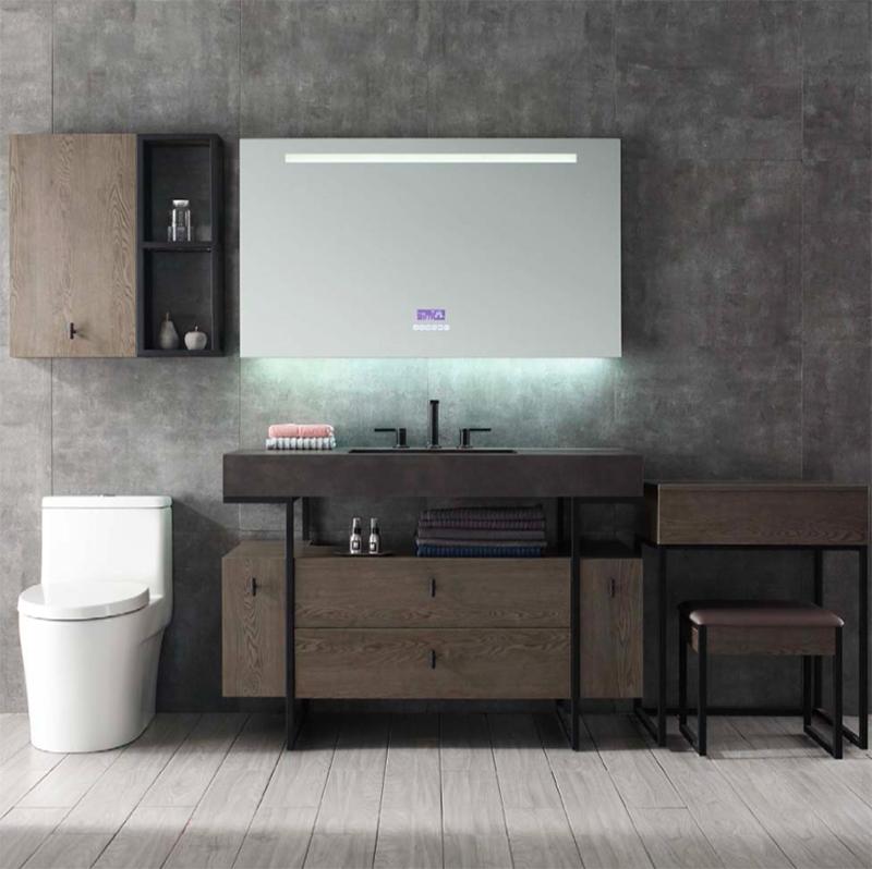 水鹿浴室柜斯纳普 PY129(购买浴室柜不含龙头和下水)