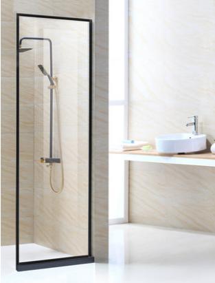淋浴房屏风 固定单玻