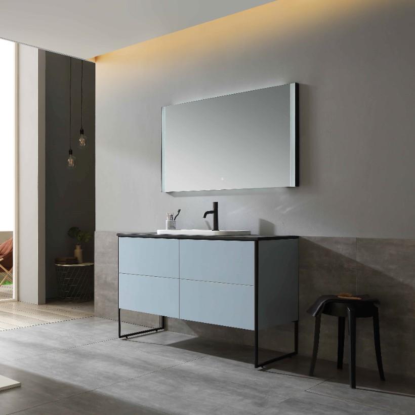 水鹿浴室柜图瑞尔 PY23812(定制交期图纸签字确认后60天) 购买浴室柜不含龙头与下水