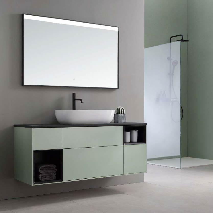 水鹿浴室柜阿波罗 PY24310 PY24313(定制交期图纸签字确认后60天) 购买浴室柜不含龙头与下水