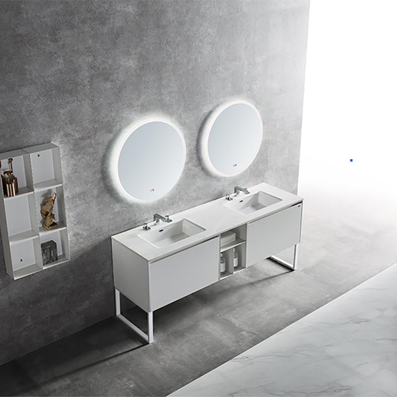水鹿浴室柜霜月 PY21520 PY21512(定制交期图纸签字确认后60天) 购买浴室柜不含龙头与下水