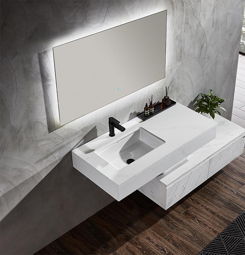 水鹿浴室柜泰戈尔 PY21810 PY21812(定制交期图纸签字确认后60天) 购买浴室柜不含龙头与下水