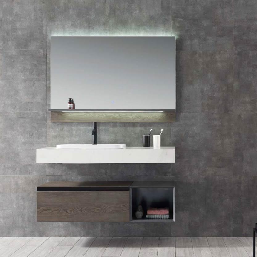 水鹿浴室柜奥斯迪 PY24112 PY24114(定制交期图纸签字确认后60天) 购买浴室柜不含龙头与下水