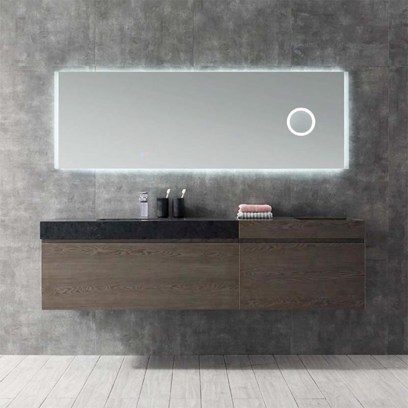 水鹿浴室柜格伦诺 PY22218(定制交期图纸签字确认后60天) 购买浴室柜不含龙头与下水