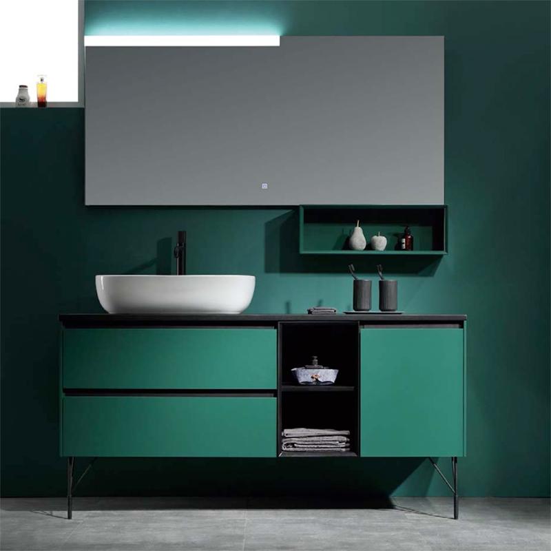 水鹿浴室柜莫特尔 PY24215(定制交期图纸签字确认后60天) 购买浴室柜不含龙头与下水