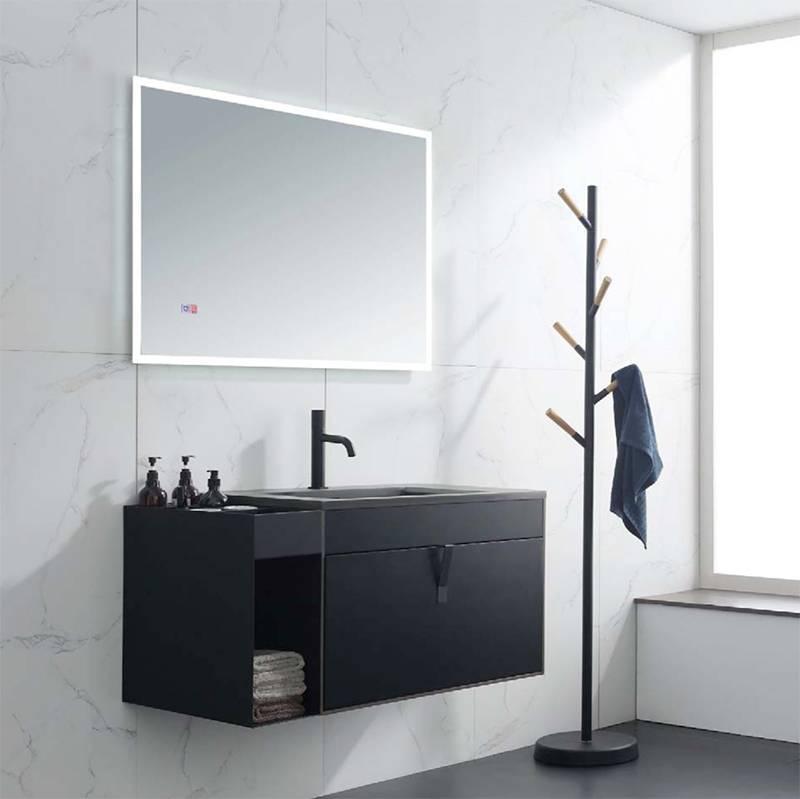 水鹿浴室柜莫斯达 PY8406-2 PY8408L-2(购买浴室柜不含龙头和下水)