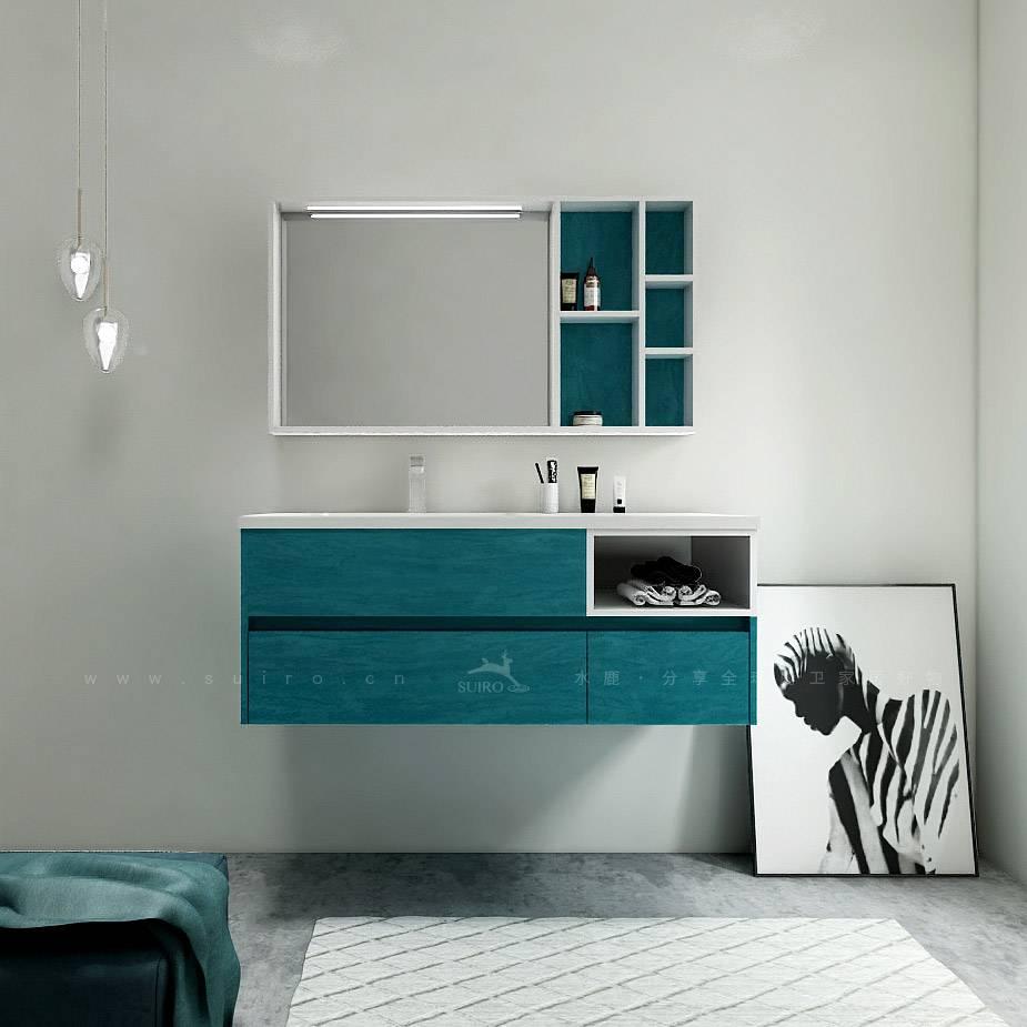 浴室柜PY25812吉赛尔(定制交期图纸签字确认后60天) 购买浴室柜不含龙头与下水