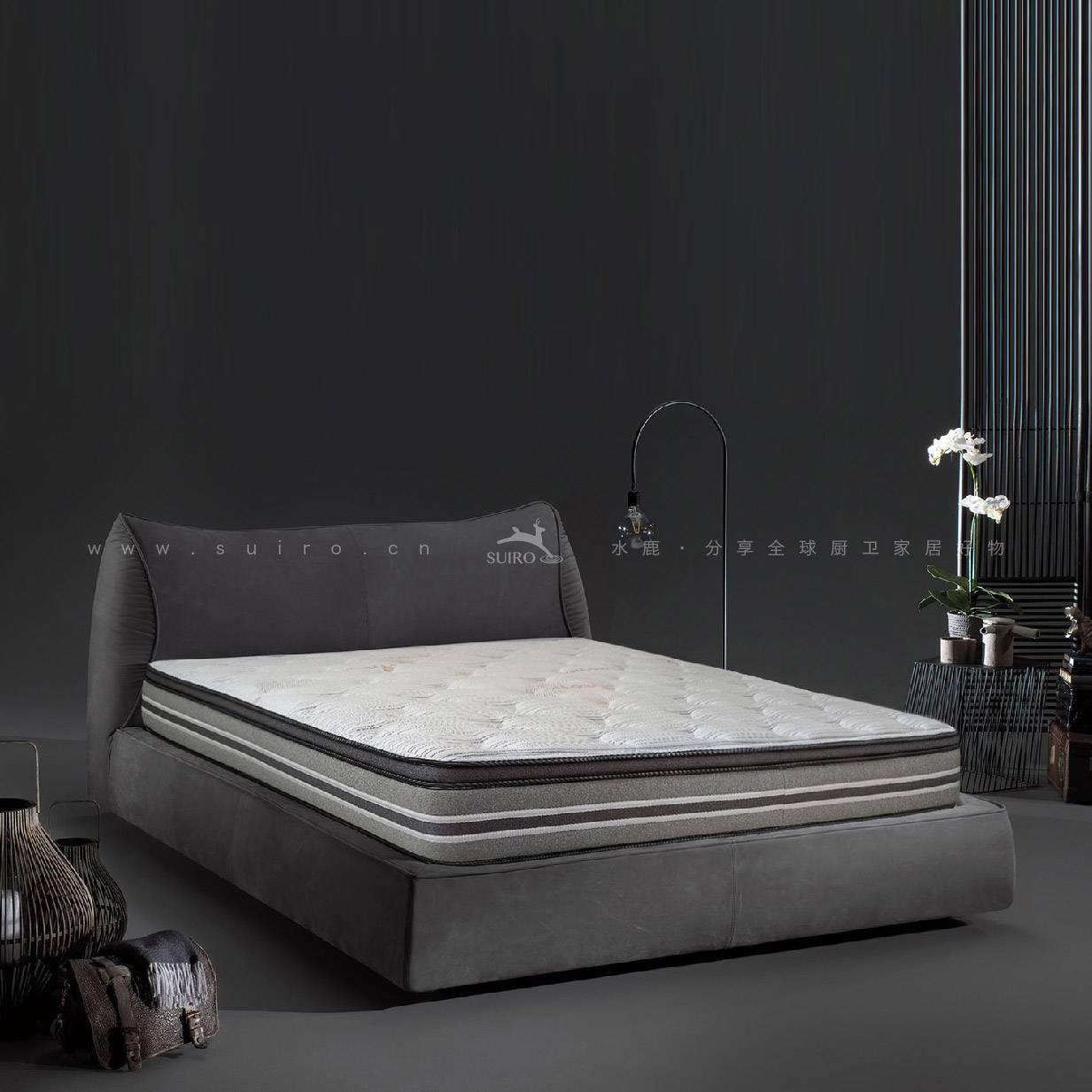 鹿眠4号床垫-七区独立袋装弹簧+3D黑科技芯材·防螨抑菌(提前20天申请发货)
