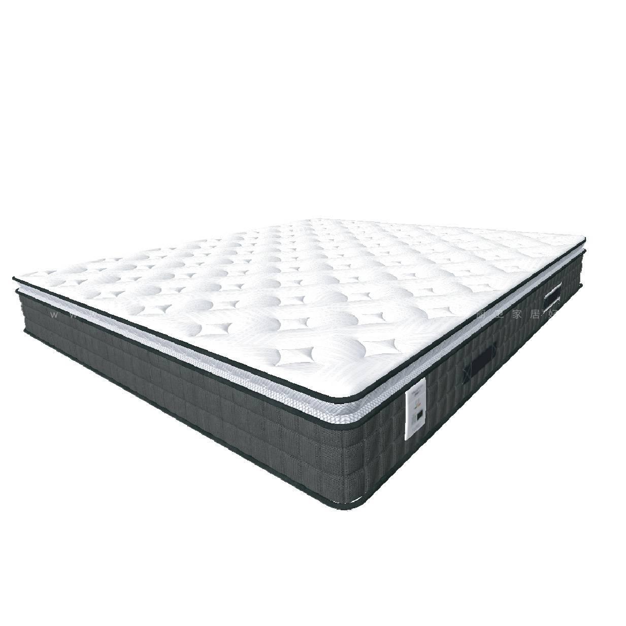 鹿眠5号床垫-七区小口径独立袋装弹簧+3D黑科技芯材·防螨抑菌(提前20天申请发货)