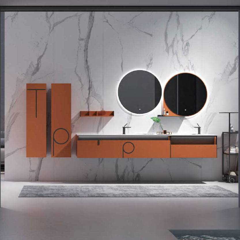 浴室柜Narns纳恩斯PY295系列(定制交期图纸签字确认后60天) 购买浴室柜不含龙头与下水