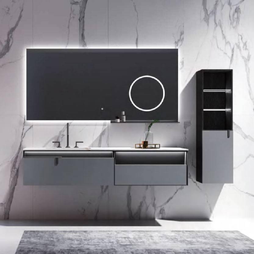 浴室柜PY294(定制交期图纸签字确认后60天) 购买浴室柜不含龙头与下水