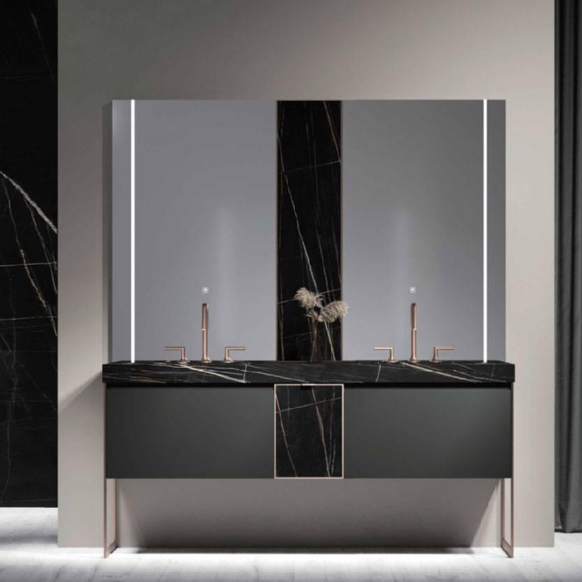 浴室柜Evila埃维拉PY288系列(定制交期图纸签字确认后60天) 购买浴室柜不含龙头与下水