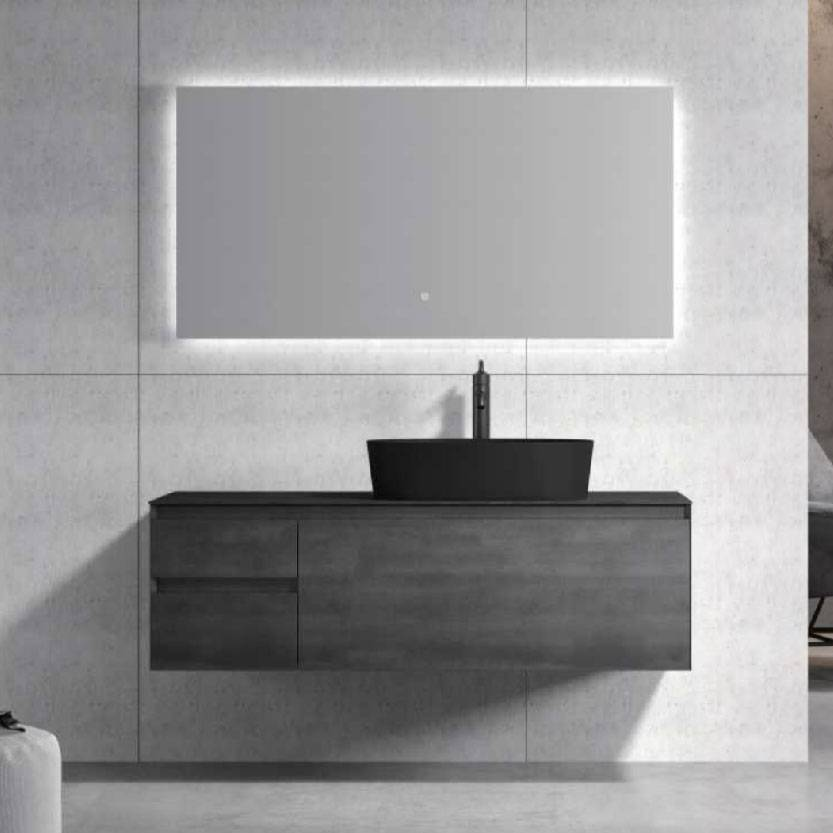 浴室柜Roy罗伊 PY28313(定制交期图纸签字确认后60天) 购买浴室柜不含龙头与下水