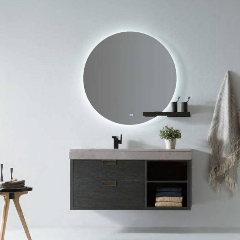 浴室柜Artemis阿蒂米斯 PY24612(定制交期图纸签字确认后60天) 购买浴室柜不含龙头与下水