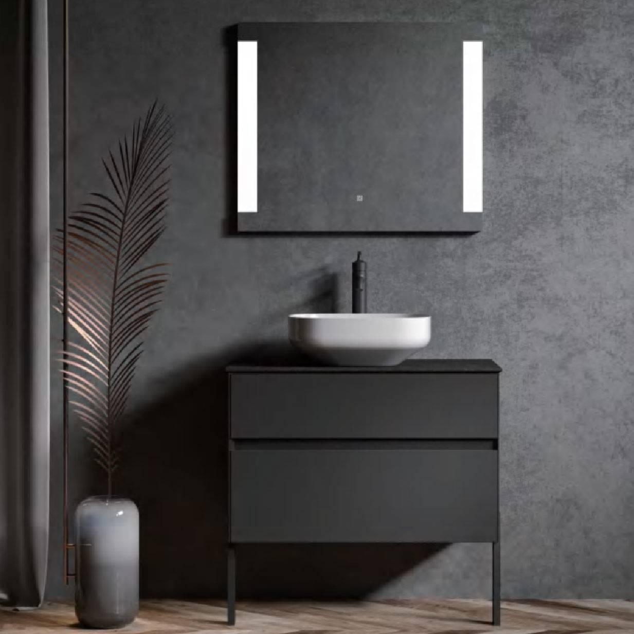 浴室柜Knox诺克斯 PY27708(定制交期图纸签字确认后60天) 购买浴室柜不含龙头与下水