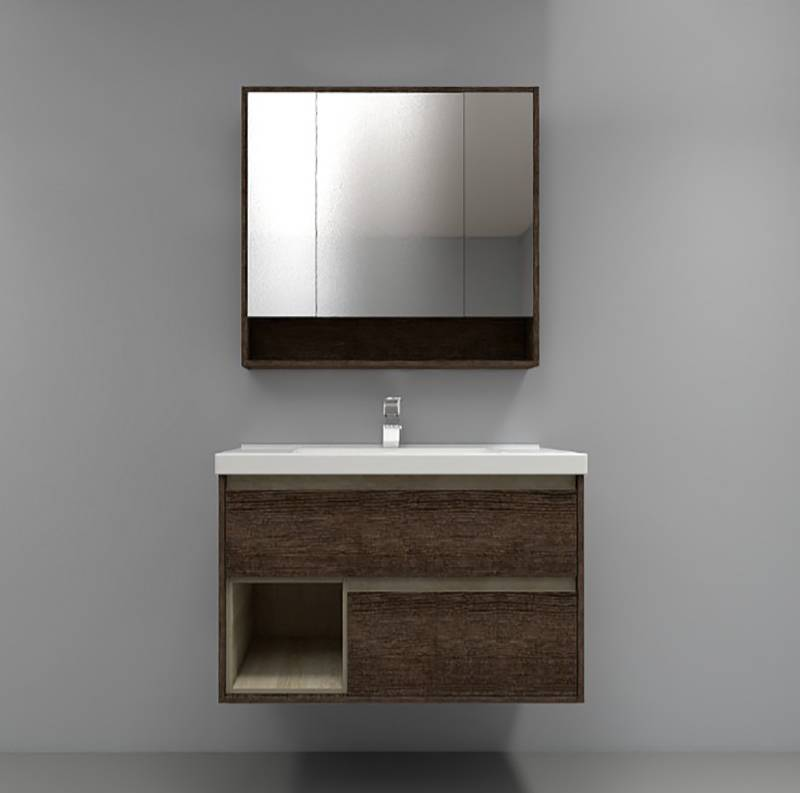 水鹿浴室柜 PY1609-4(购买浴室柜不含龙头和下水)