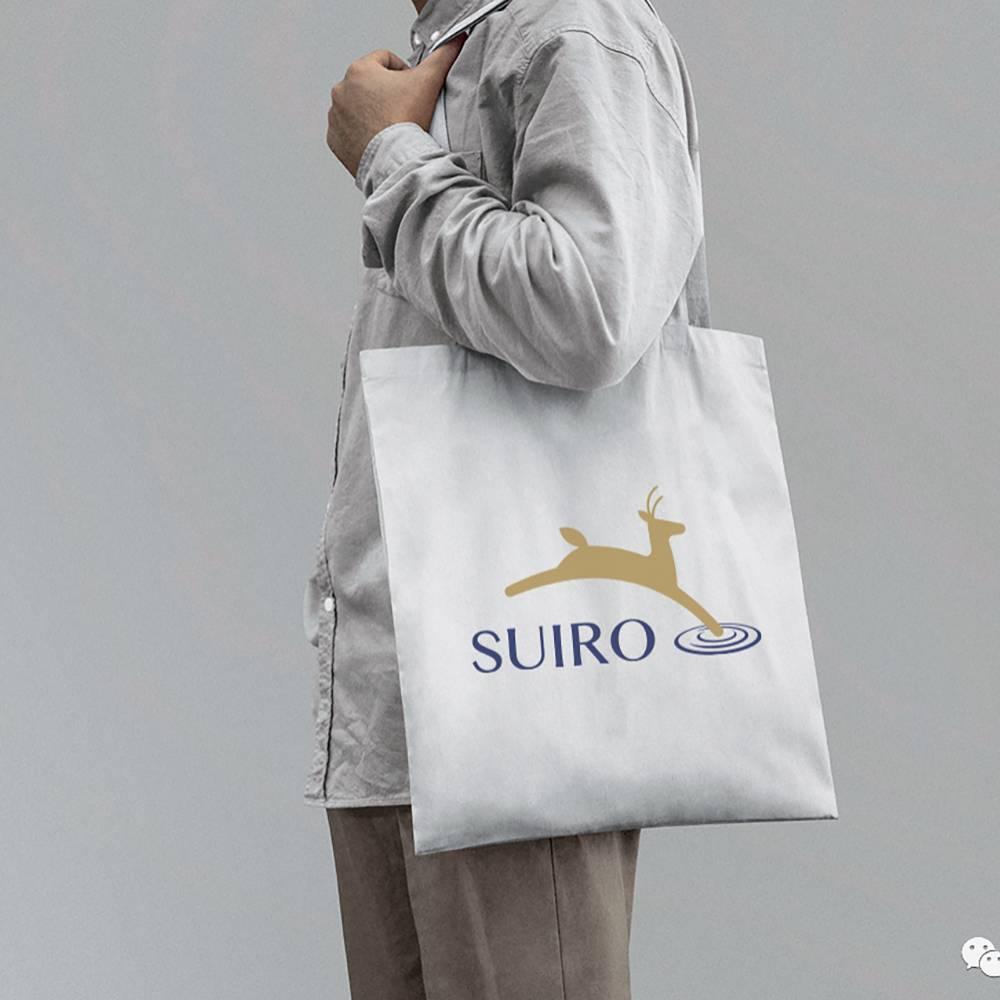 水鹿帆布购物袋