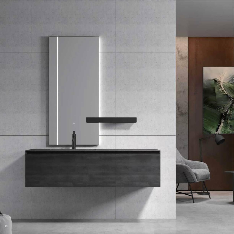 浴室柜Abel艾贝尔 PY29915(定制交期图纸签字确认后60天) 购买浴室柜不含龙头与下水