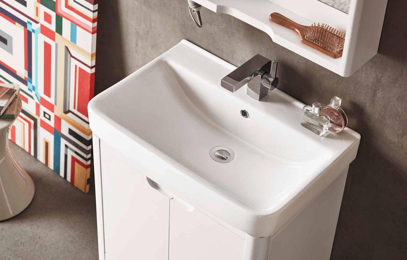 水鹿卫浴-洗面-浴室柜-水鹿精选浴室柜PY1907-1(不含龙头和下水,备注好交期)