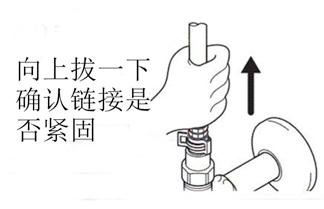 水鹿卫浴-厨房-厨房龙头-日本KVK KM5021T单孔抽拉长柄式厨房龙头