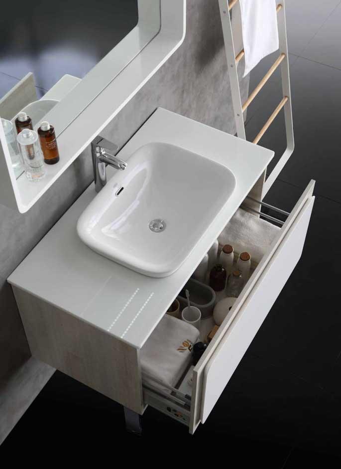 水鹿卫浴-洗面-浴室柜-水鹿精选浴室柜PY3408(不含柜脚、龙头和下水,备注好交期)