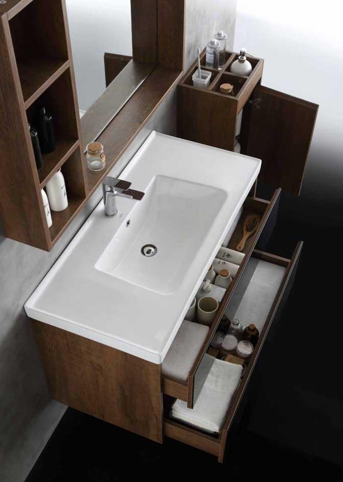 水鹿卫浴-洗面-浴室柜-水鹿精选浴室柜1610-3(不含侧柜,不含龙头和下水,备注好交期)