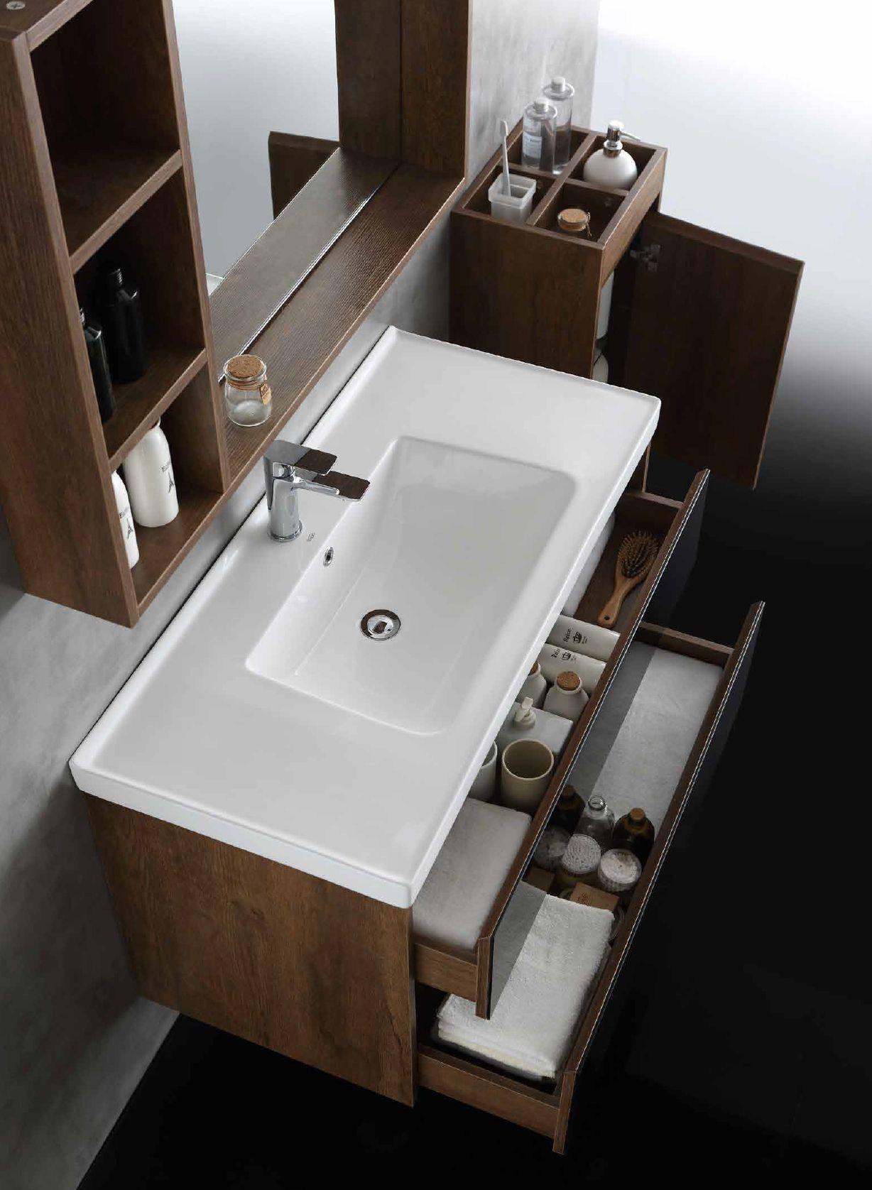 水鹿卫浴-洗面-浴室柜-水鹿精选浴室柜1608-3(不含龙头和下水,备注好交期)