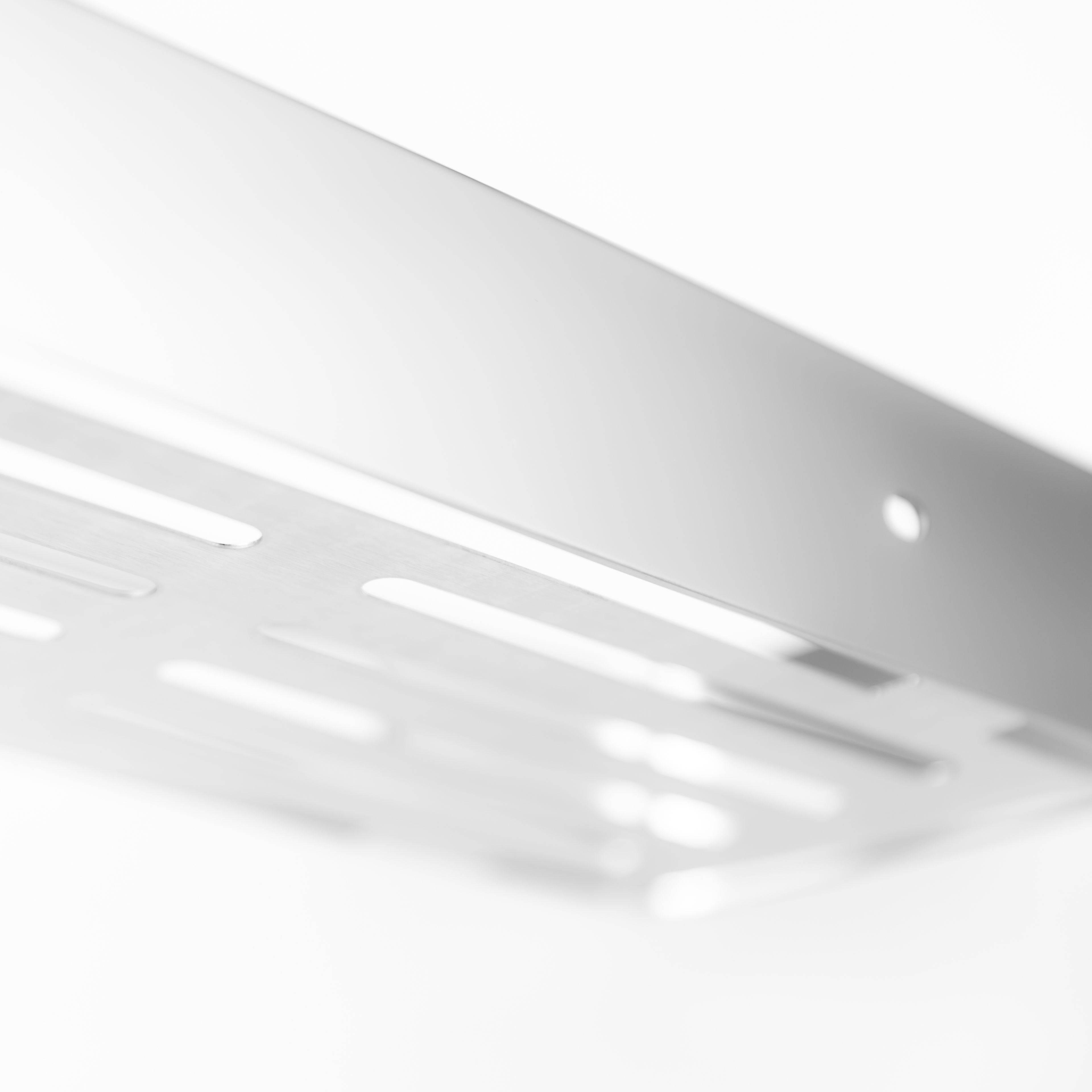 水鹿卫浴-配件-挂件-水鹿优选精致置物架(长方形)304不锈钢
