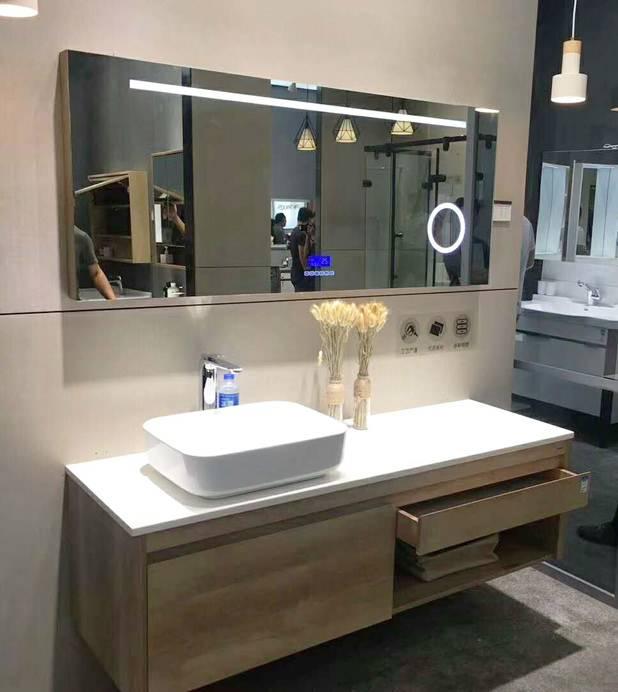 水鹿卫浴-洗面-浴室柜-水鹿精选浴室柜PY20812(不含龙头和下水,备注好交期)