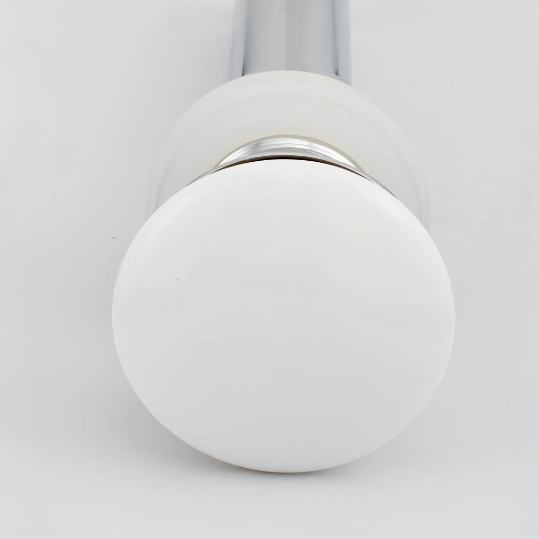 水鹿卫浴-配件-下水排水-浴室柜用陶瓷面下水器-需搭配下水管使用