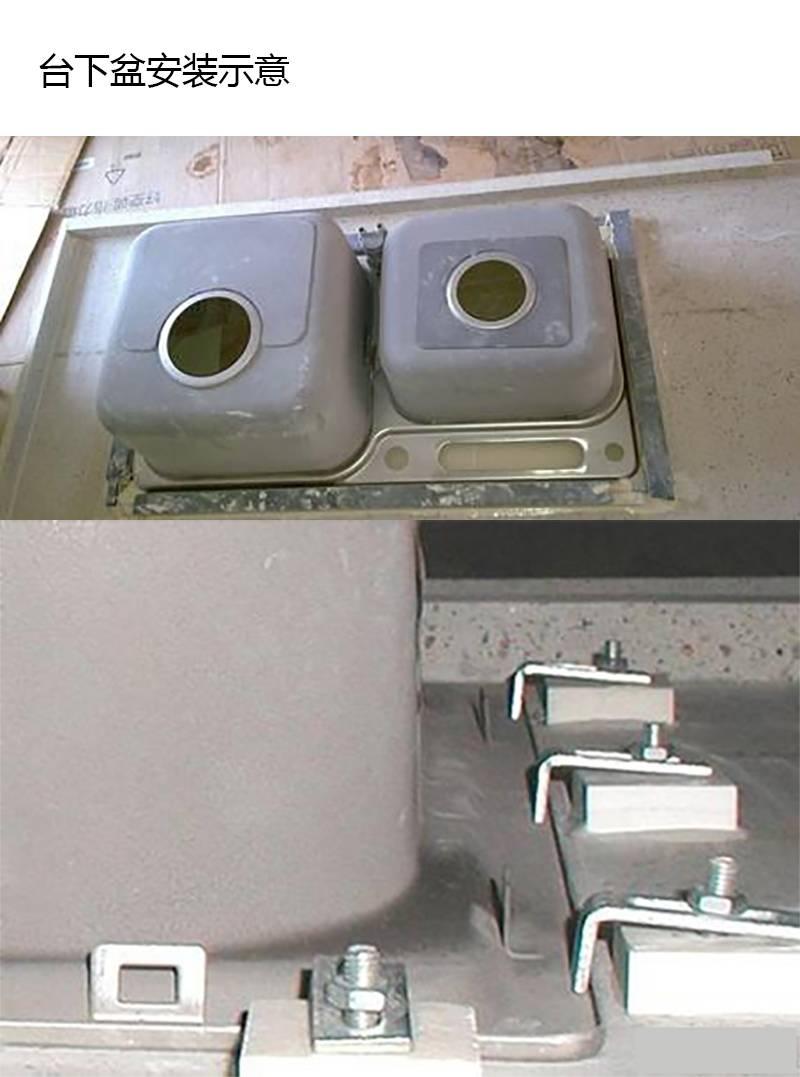 水鹿卫浴-厨房-水槽-水鹿精选-纳米水槽大单槽SKB8508N